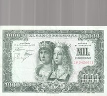 1000 Pesets 1957 - 1000 Pesetas