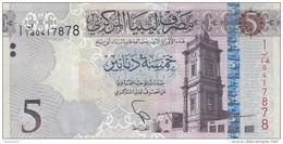 LIBYA 5 DINARS 2015 2016 P-81 UNC */* - Libya