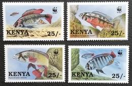 Kenya 1997 Fish Of Lake Victoria W.W.F. - Kenya (1963-...)