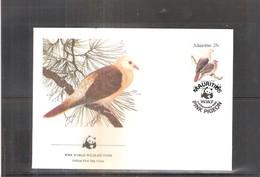 FDC Maurice - Oiseau - Pigeon (à Voir) - Maurice (1968-...)