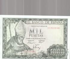 1000 Pesets 1965 - [ 3] 1936-1975 : Régence De Franco