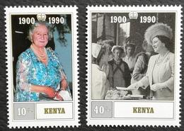 Kenya 1990 Queen Mother ,90th.Birthday - Kenya (1963-...)