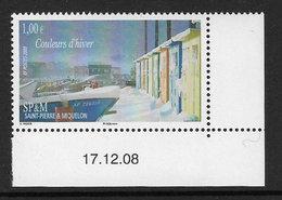 St.-Pierre Et Miquelon 2009 Couleurs D'Hiver 1v Complete Unmounted Mint [4/3809/ND] - St.Pierre & Miquelon