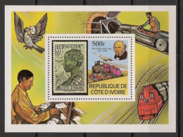 Cote D'Ivoire - 1979 - Bloc Feuillet BF N°Yv. 14 - Rowland Hill - Neuf Luxe ** / MNH / Postfrisch - Rowland Hill