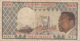 1000 Francs - Gabon