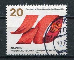 DDR Michel-Nr. 2951 Gestempelt Tagesstempel - Usati