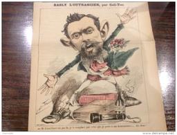 1886 Journal Satirique LA NOUVELLE LUNE / BASLY L'OUTRANCIER Par COLL TOC - Periódicos