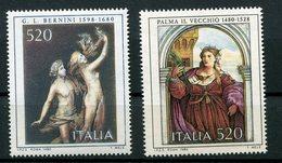 Italia Repubblica (1980) - Arte Italiana, 7° Emissione ** - 1946-.. République