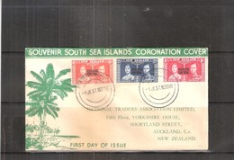 FDC Cook Islands To New Zealand - Complete Set - 1937 (to See) - Cook