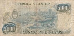 5000 Pesos - Argentine