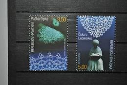 Croatie 2002 Dentelles MNH Complet - Croatie