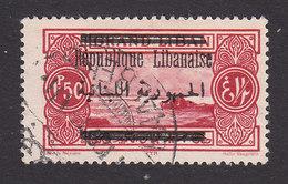 Lebanon, Scott #89, Used, Scenes Of Lebanon Surcharged, Issued 1928 - Great Lebanon (1924-1945)