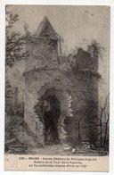 ROUEN--Ancien Chateau Philippe Auguste,Ruines Tour De La Pucelle Où Fut Enfermée Jeanne  D'Arc ........... à  Saisir - Rouen