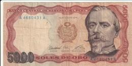 5000 Soles - Peru