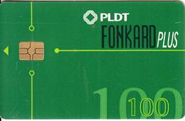 PHILIPPINES(chip) - PLDT Telecard 100 Pesos, Chip GEM3.3, Exp.date 31/12/01, Used - Philippines