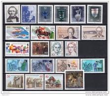 Allemagne 1986 BERLIN NEUF ** ANNEE COMPLETE Cote 43€ - [5] Berlin