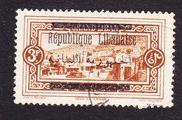 Lebanon, Scott #91, Used, Scenes Of Lebanon Overprinted, Issued 1928 - Great Lebanon (1924-1945)