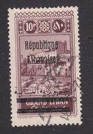 Lebanon, Scott #94, Used, Scenes Of Lebanon Overprinted, Issued 1924 - Great Lebanon (1924-1945)