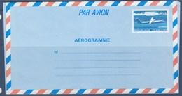 = Entier Aérogramme Avion ATR72 4f20 Bleu Clair Et Bleu N°1018-AER Avion En Vol - Ganzsachen
