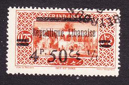 Lebanon, Scott #97, Used, Scenes Of Lebanon Overprinted, Issued 1928 - Great Lebanon (1924-1945)