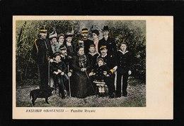 Crete-Bazliaikh Oikofeneia , Royal Family 1910s - Antique Postcard - Grecia