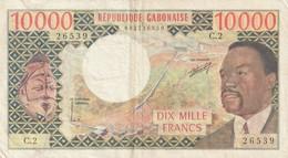 10000 Francs 1974 RARE - Gabon