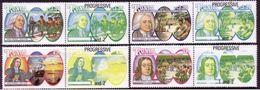 Tonga 1991 Wesley Missionary MNH Set Of 4 Pairs With Progressive Colours - Scarce Set - Tonga (1970-...)