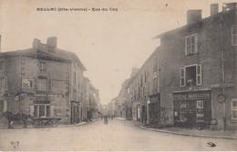CPA Bellac - Rue Du Coq (avec Epicerie Marsaudon) - Bellac
