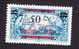 Lebanon, Scott #99, Mint Hinged, Scenes Of Lebanon Overprinted, Issued 1928 - Great Lebanon (1924-1945)