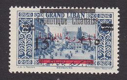 Lebanon, Scott #100, Mint Hinged, Scenes Of Lebanon Overprinted, Issued 1928 - Great Lebanon (1924-1945)