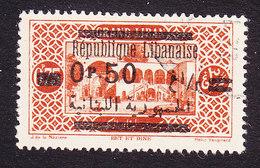 Lebanon, Scott #102, Used, Scenes Of Lebanon Overprinted, Issued 1928 - Great Lebanon (1924-1945)
