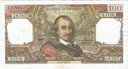Francia 100 Francs 1-9-1977 Pk 149 F Firmas P.A. Strohi, G. Bouchet Y J.J. Tronche Ref 3172-2 - 1962-1997 ''Francs''