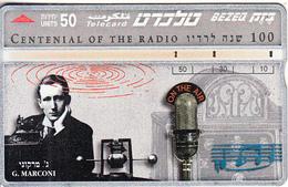 ISRAEL - 100 Years Of Radio, G.Marconi, CN : 545A, 07/95, Used - Israel