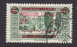 Lebanon, Scott #103, Used, Scenes Of Lebanon Overprinted, Issued 1928 - Great Lebanon (1924-1945)