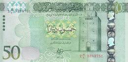 LIBYA 50 DINARS 2015 2016 P-84 AU/UNC */* - Libië