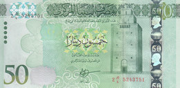 LIBYA 50 DINARS 2015 2016 P-84 AU/UNC */* - Libya