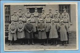 Carte-photo Saint-Avold (57) 18ème Régiment De Chasseurs à Cheval 4caporaux 1capitaine (+) 2scans 12-1935 - Saint-Avold