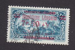 Lebanon, Scott #105, Used, Scenes Of Lebanon Overprinted, Issued 1928 - Great Lebanon (1924-1945)