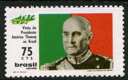 Brazil 1972 Portuguese Pres. Thomaz Unmounted Mint. - Brazil