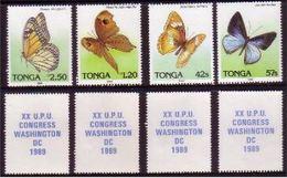 Tonga 1989 Scarce UPU Set - More Details Below - Tonga (1970-...)