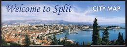 Croatia / Welcome To Split / City Map - Maps