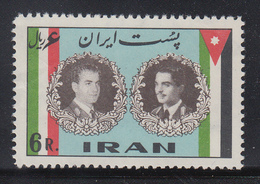 Persien / Iran 1960 Besuch Des Jordanischen Königs Hussein II , Mi.-Nr. 1082 **  - Iran