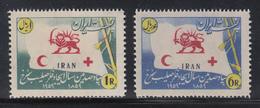 Persien / Iran 1959 Rotes Kreuz Und Roter Halbmond , Mi.-Nr. 1066-67  **  - Iran