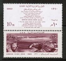 EGYPT  Scott # 497a** VF MINT NH SE-TENNANT PAIR (Stamp Scan # 491) - Egypt