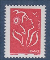 = Marianne De Lamouche ITVF TVP Lettre Prioritaire -20g Rouge 3734 Neuf - 2004-08 Marianne Of Lamouche