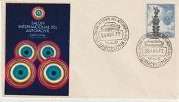 58-Tematica Auto-Spagna-Salone Internazionale Dell' Automobile-1972 - Automobili