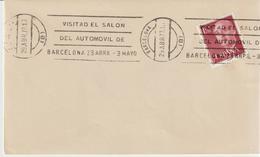 59-Tematica Auto-Spagna-Visitate Il Salone Dell' Automobile Di Barcellona-1977 - Automobili