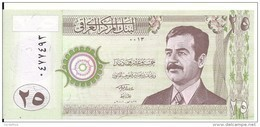 IRAK 25 DINARS 2001 UNC P 86 - Iraq