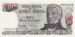 ARGENTINE 10 PESOS ND1983-84 UNC P 313 - Argentine