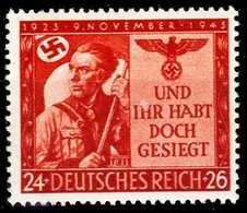 3. REICH 1943 Nr 863 Postfrisch S1D5BD2 - Allemagne